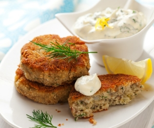 Salted Cod Fish Cake