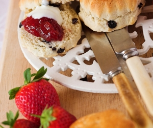 Scones & Clotted Cream