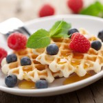holidays & recipes: 4th of july guests for breakfast & the belgium waffle