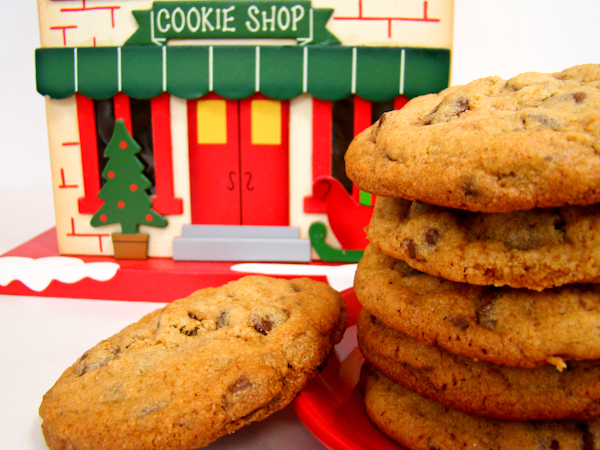 Santa's Chocolate Chip Cookies