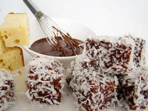 worldly wednesdays: lamingtons recipe a visit to australia