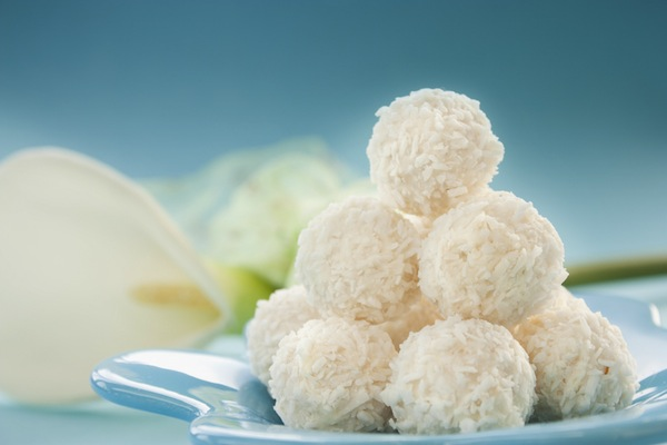 Bahama Cuisine Coconut Candy & Coconut Cookies Food Photography