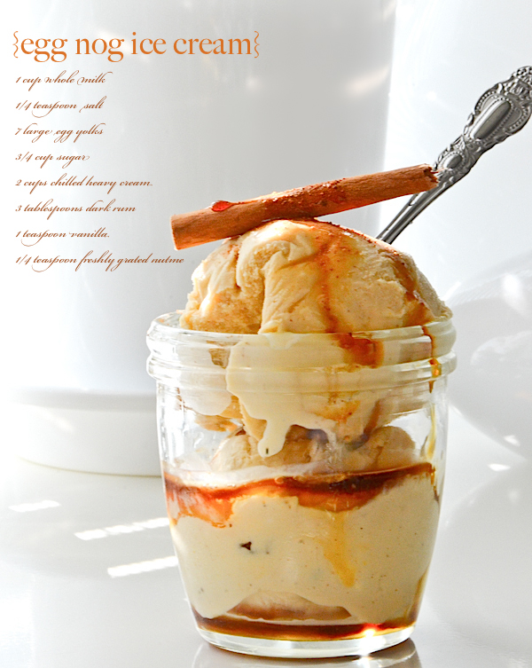 Egg Nog Ice Cream: Ice Cream Food Photography Recipe by Epicurious by Marie Cinq-Mars