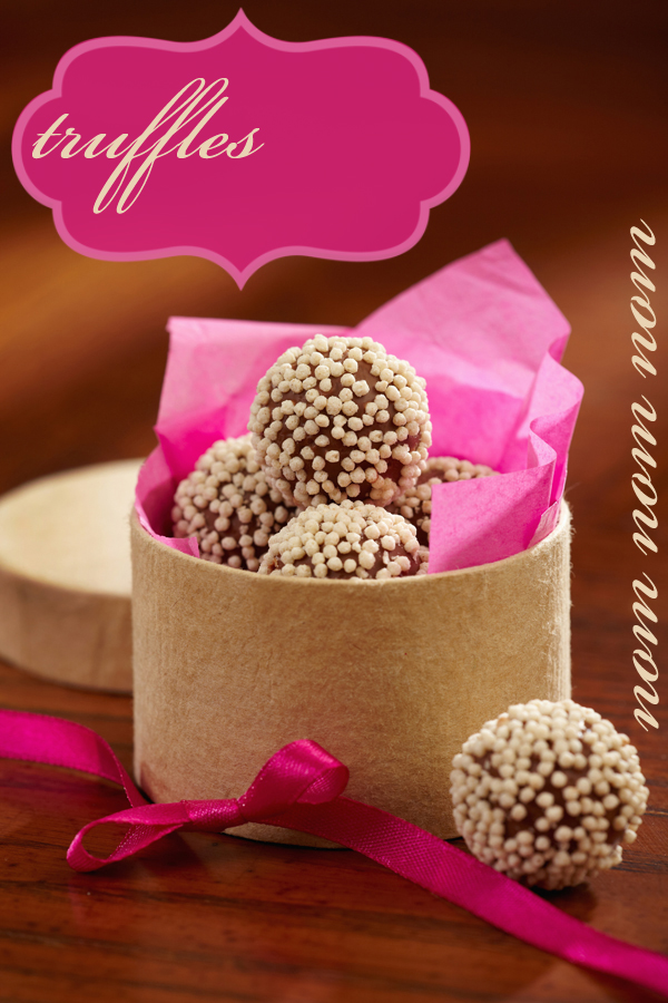 Chocolate Truffles Food Photography