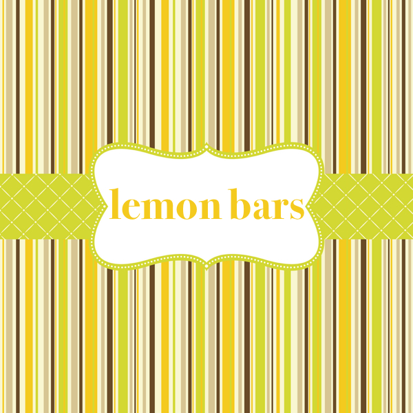easy desserts & recipes: orgasmic lemon bars recipe by ina garden