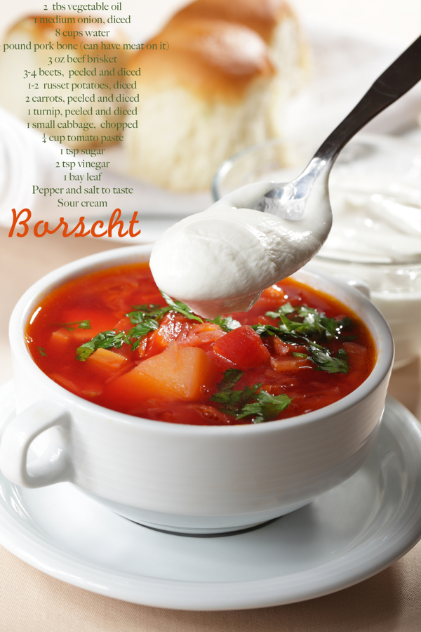tastily touring: visiting belarus with a borscht recipe
