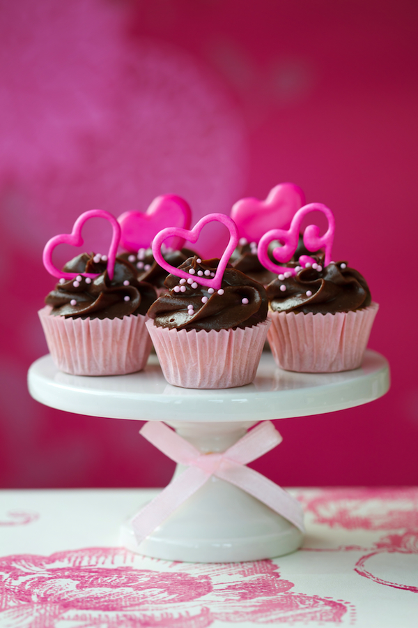 Valentine Raspberry Cupcakes Food Photography that Tastes Good
