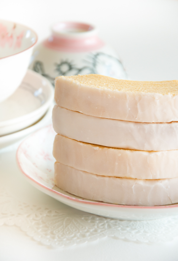 easy desserts & recipes: cherry blossom baumkuchen
