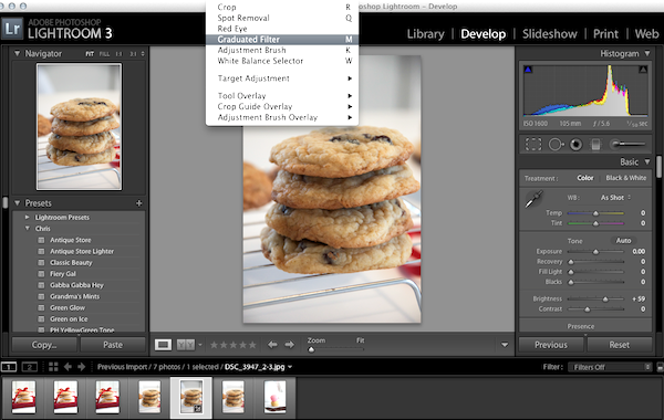 Learning Lightroom 3