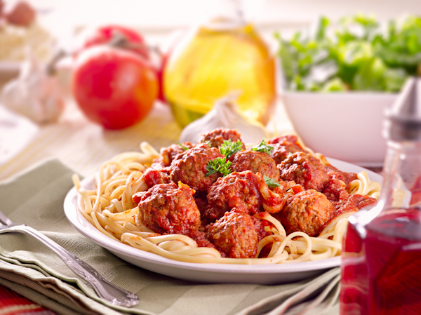 Spaghetti and Meatballs Food Photography Tips White Balance