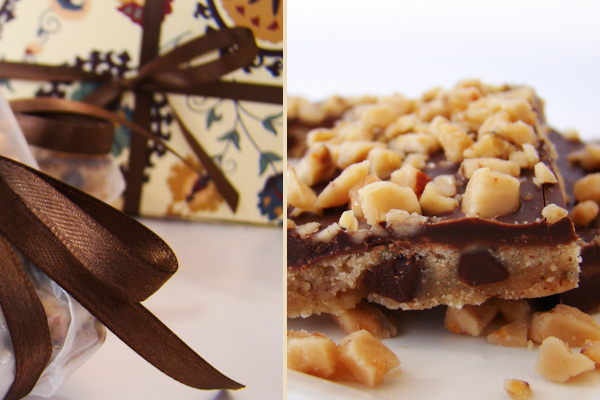 easy desserts & recipes: caramel crunch bars