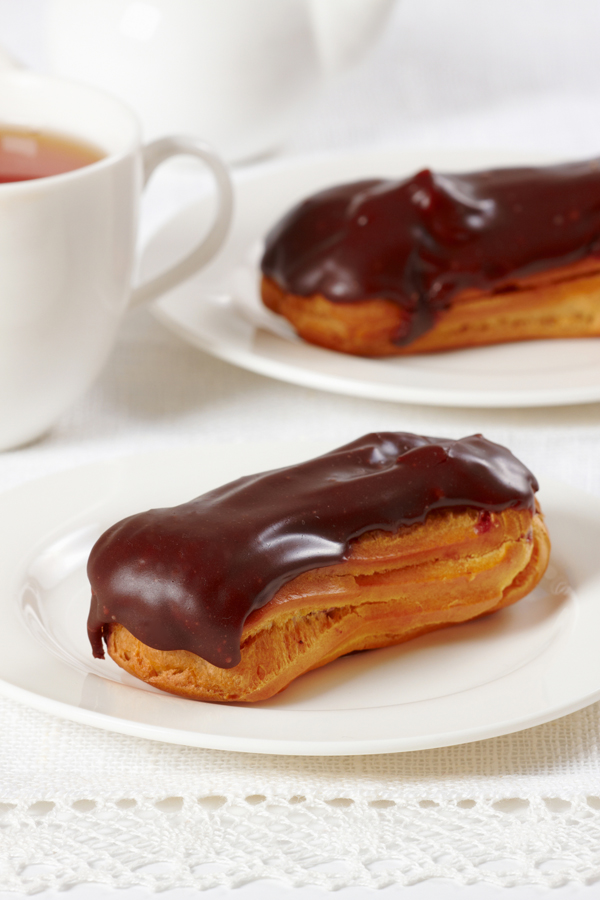The Classic Eclair Desserts Served on the Titanic